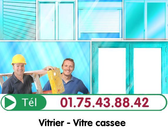 Vitre Cassée Cregy les Meaux 77124