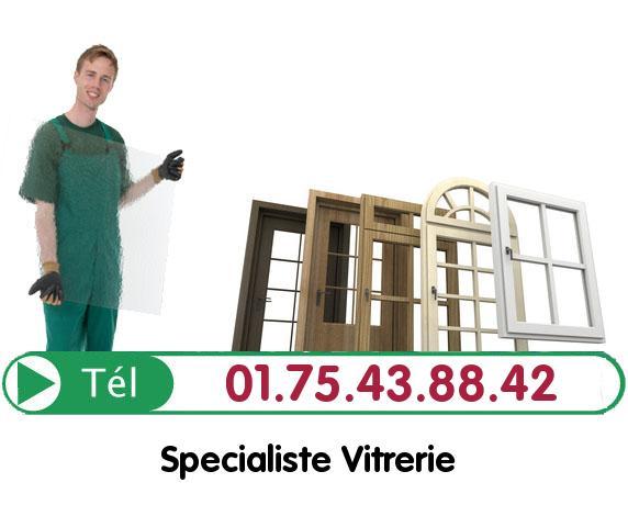 Vitre Cassée Villetaneuse 93430